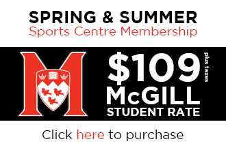 2015 Spring & Summer Sports Centre Membership